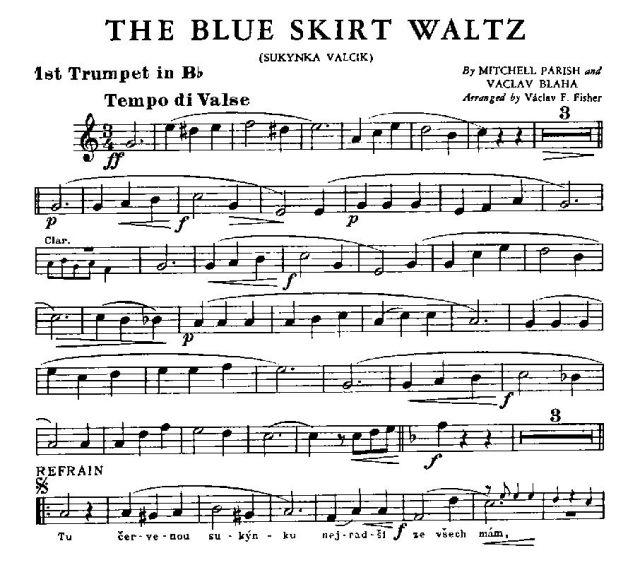 sbo blue skirt waltz vitak elsnic